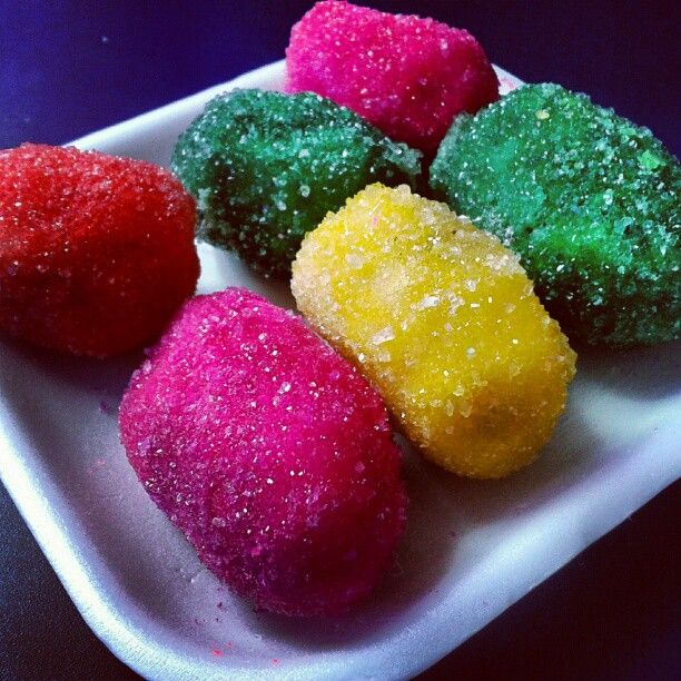 dulces abrillantados estado mérida