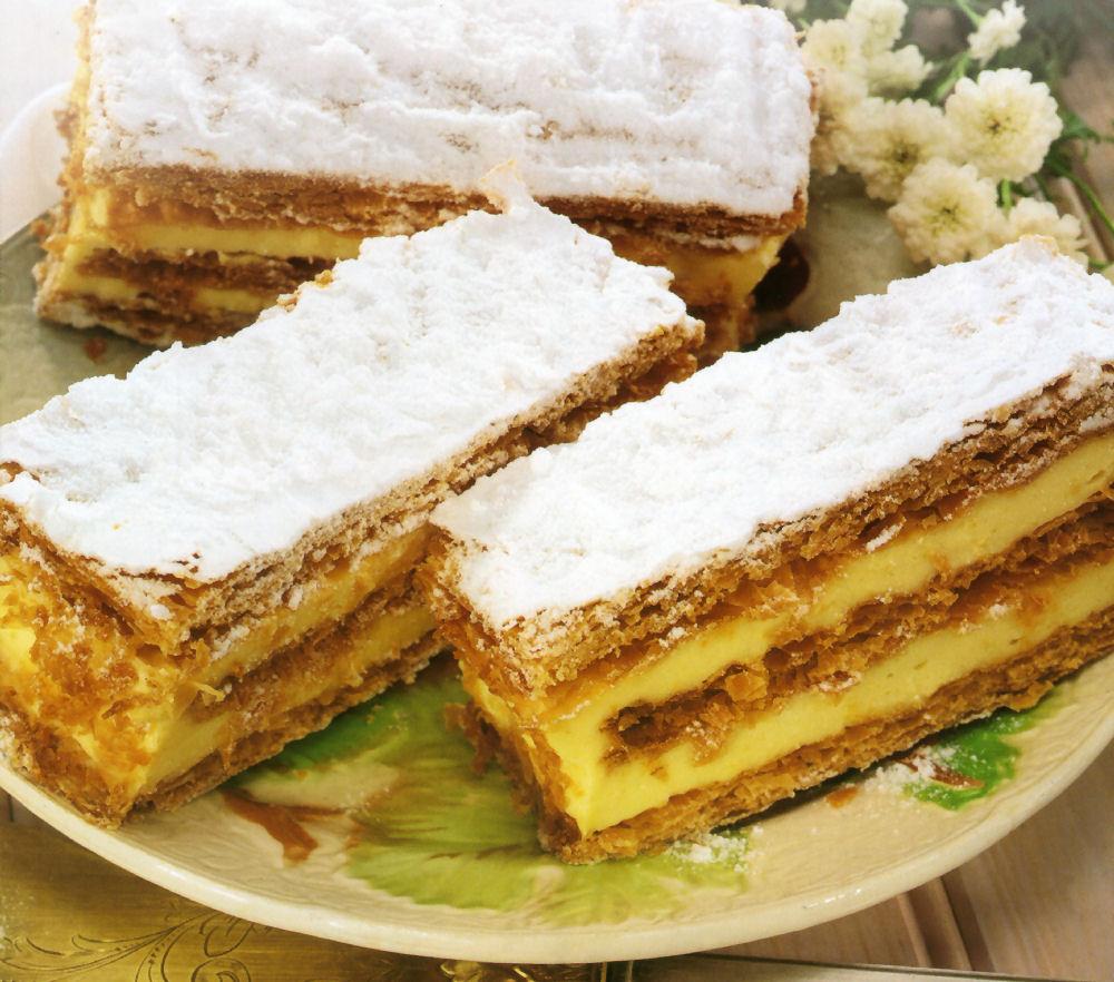 torta de milhojas venezolana